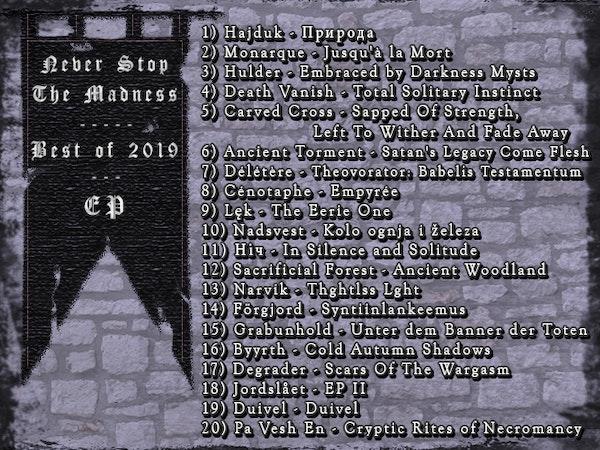 #409 - 01-21-20 - Best of 2019 : EPs