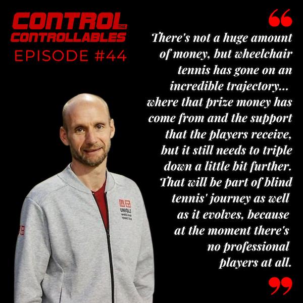 Episode 44: Mark Bullock - Tennis is for everyone!