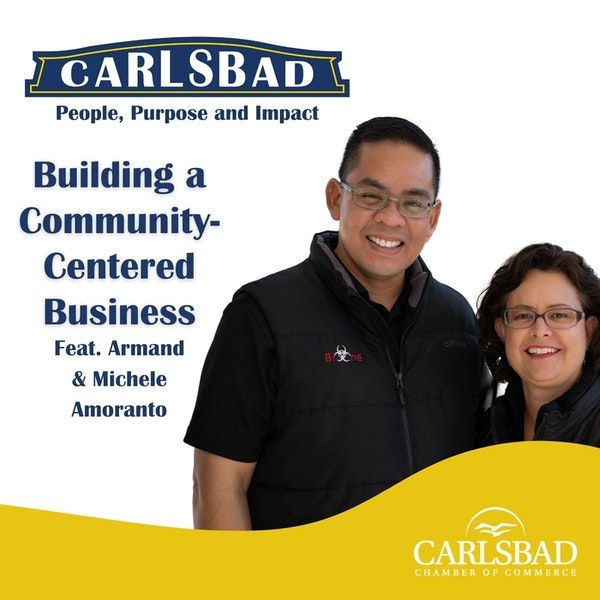 Ep. 9 Building a Community-Centered Business with Armand & Michele Amoranto Image