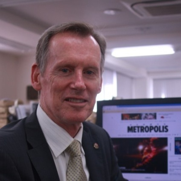 "Neil Butler: Metropolis Magazine CEO and ""Aussie Beef"" Marketing Virtuoso Image"