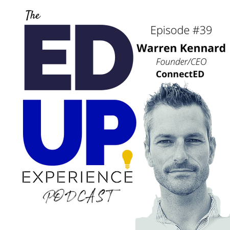 39: Higher Education Up-skill and Re-skill - with Warren Kennard of ConnectEd and Cahoot Learning Image