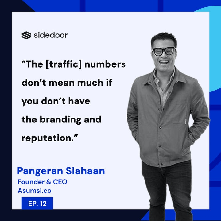 Pangeran Siahaan - Quality Media, Beyond Clicks