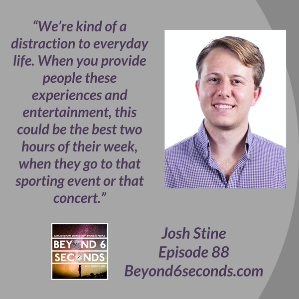 Episode 88: How event ticketing can create amazing customer experiences -- with Josh Stine Image