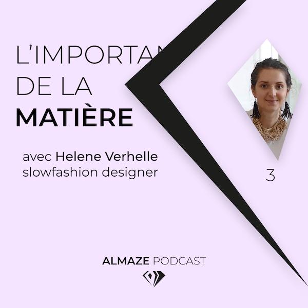 """""""Pour moi modest fashion c'est toujours cette idée de questionnement de la personne et de l'importance de la matière"""" Hélène Verhelle Image"""