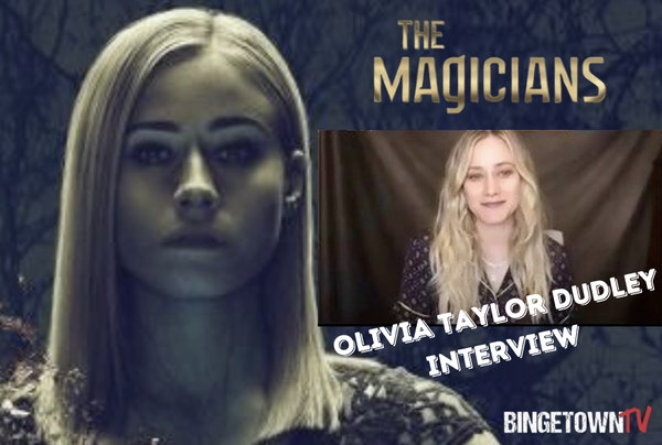 """E128 Interview with Olivia Taylor Dudley AKA Alice Quinn From """"The Magicians""""! Image"""