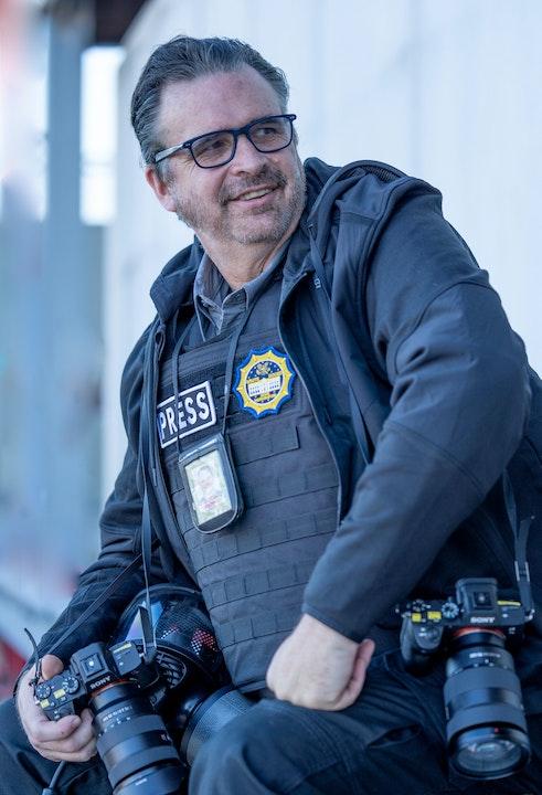 Photographer and award winning filmmaker John Harrington Image