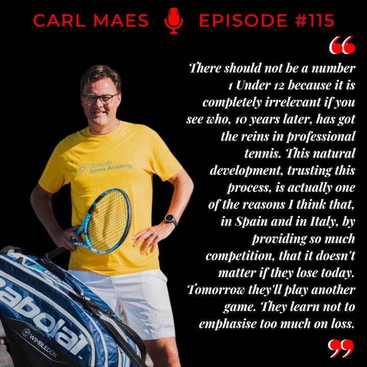 Episode 115: Carl Maes - The Professor