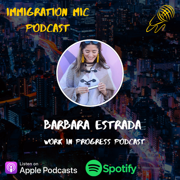 Barbara Estrada, Journalist and Host of 'Work In Progress' Podcast! Image