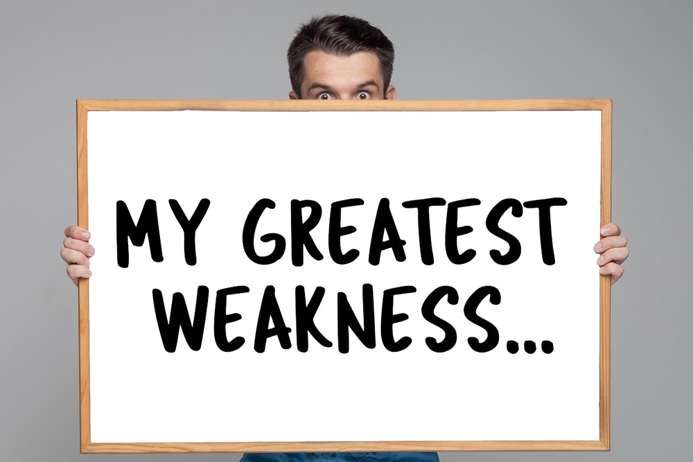 "How to answer the interview question ""What are your weaknesses?"""