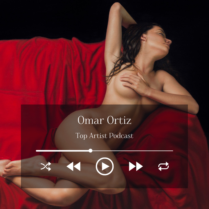 Painter Omar Ortiz on His Hyperrealistic Paintings and Creative Process