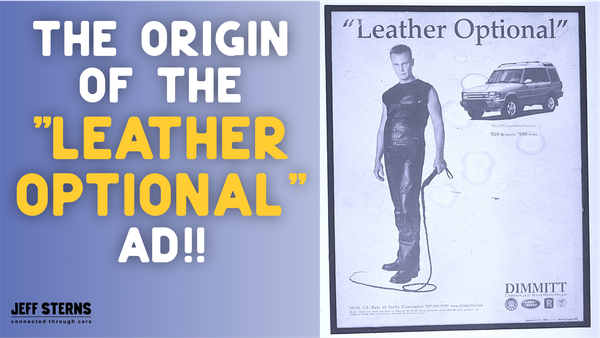 The LEATHER OPTIONAL AD!! How did this iconic ad series begin?!? Micheal Sterns introduced Sean Marra and Jeff Sterns ... Image