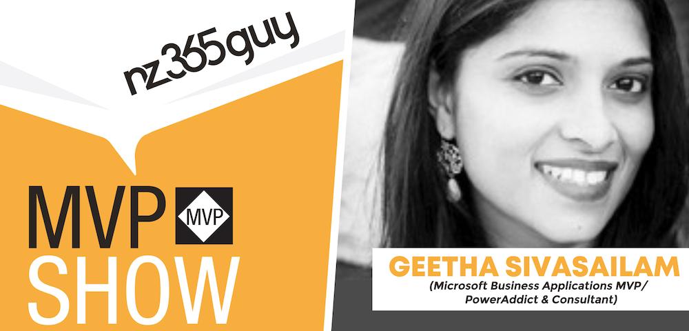 Geetha Sivasailam on The MVP Show