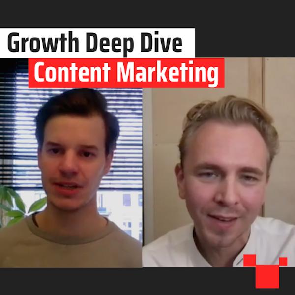 Content Marketing met Stefan van de Wetering - Growth Deep Dive #9 met Jordi Bron Image