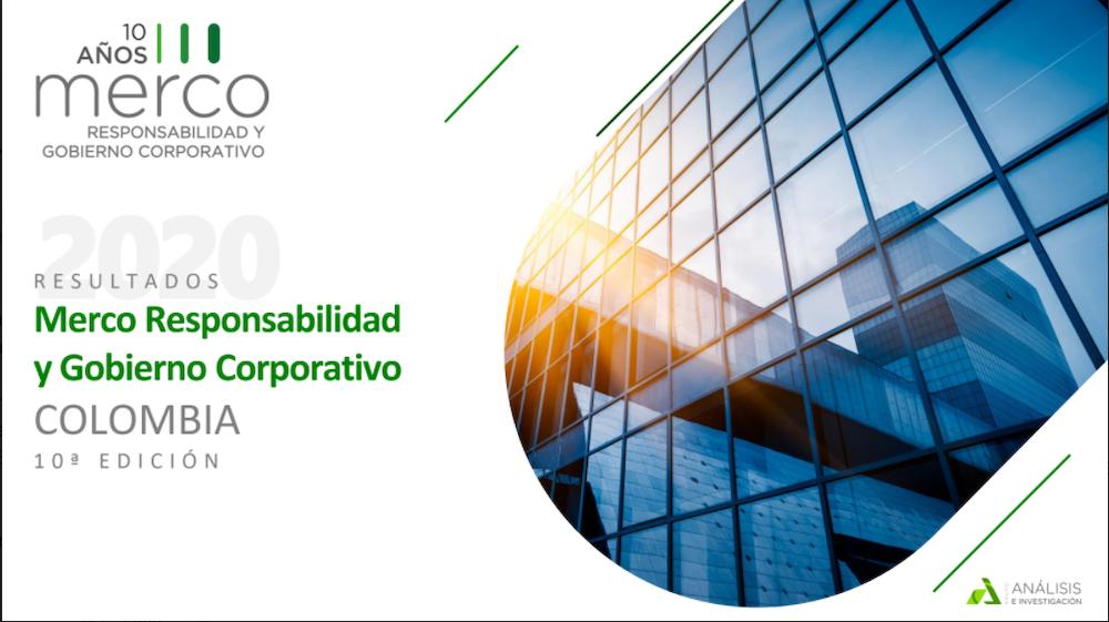 Merco presenta las 100 empresas con mejor Responsabilidad y Gobierno Corporativo en 2020