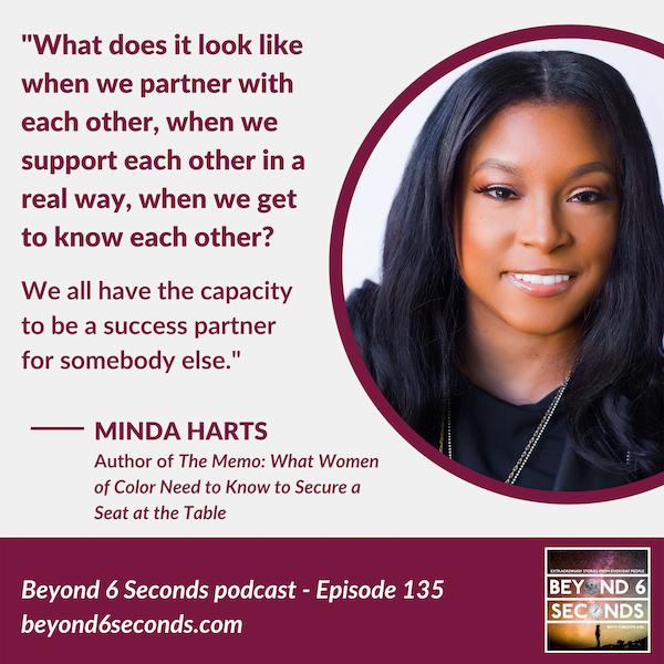 Episode 135: Minda Harts -- Career Success for Women of Color