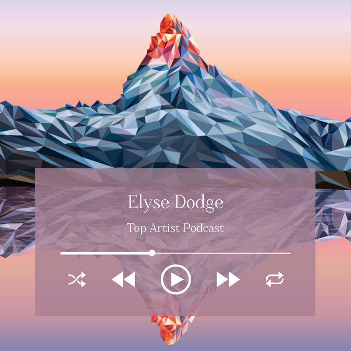 Painter Elyse Dodge on Her Colorful Low Poly Landscapes