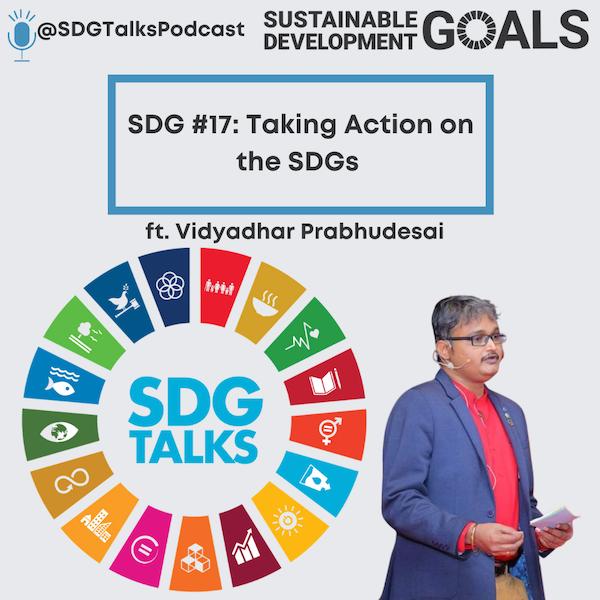 SDG #17 - Taking Action on the SDGs with Vidyadhar Prabhudesai Image