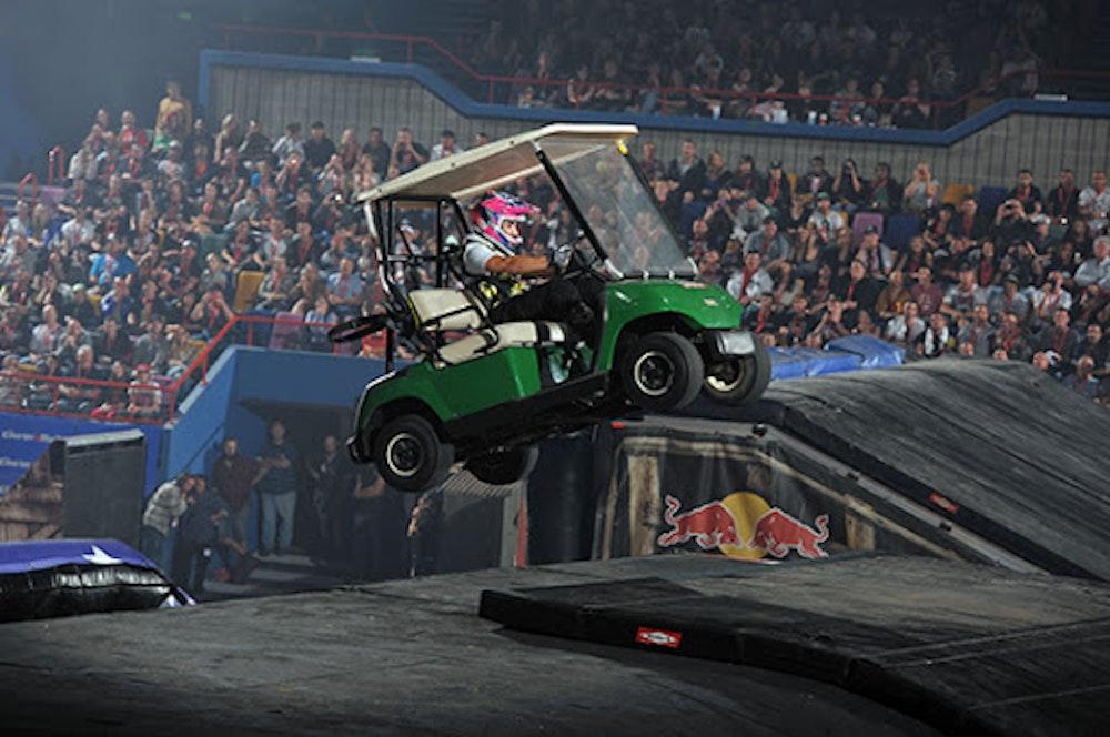 Nitro Circus and golf don't mix