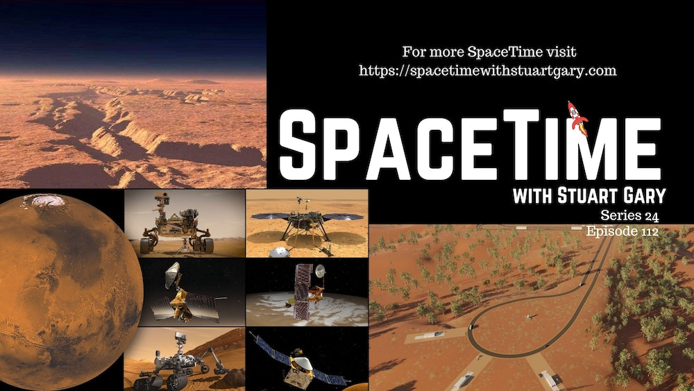 Rockin' On The Red Planet