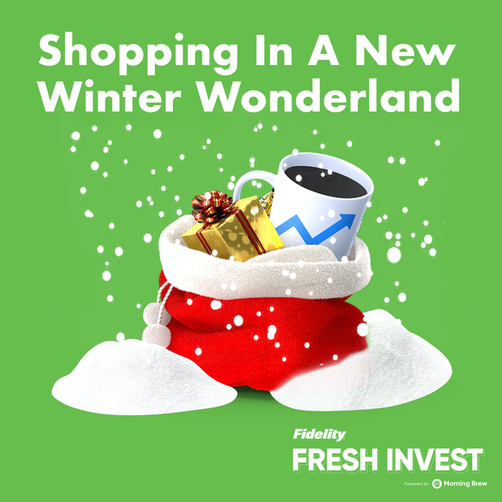 Shopping in a New Winter Wonderland