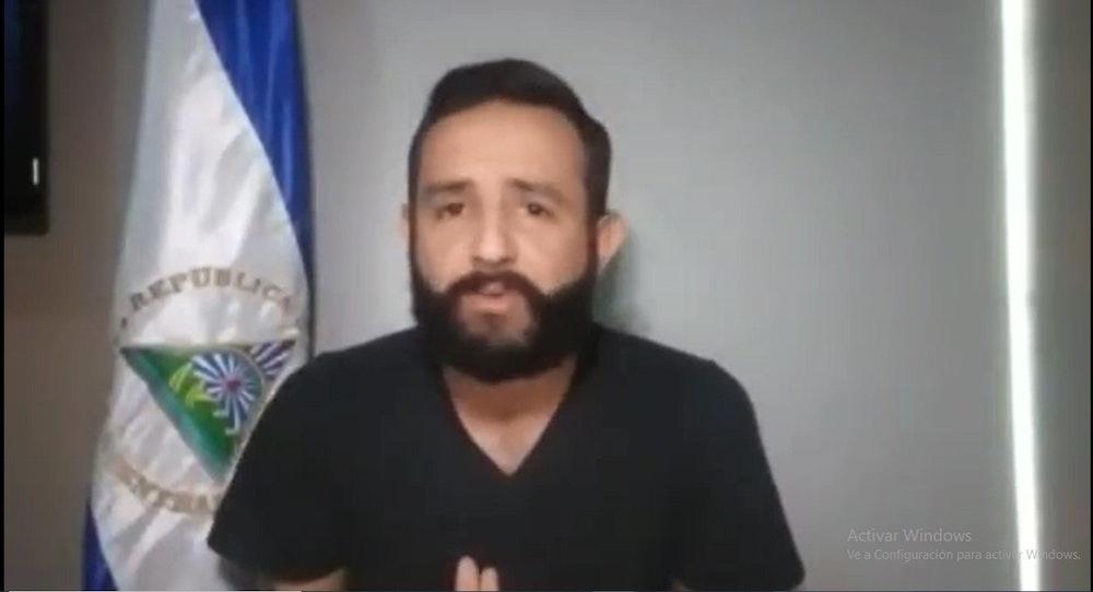 """""""Nicaragua necesita de todos"""" dijo Roger Reyes antes de su detención"""
