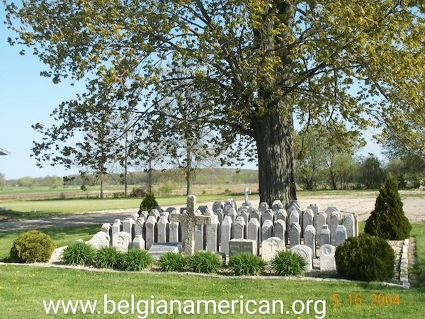 Episode 48 - The Little Cemetery in the Sky & St Mary of the Snows, Door County, Wisconsin Image
