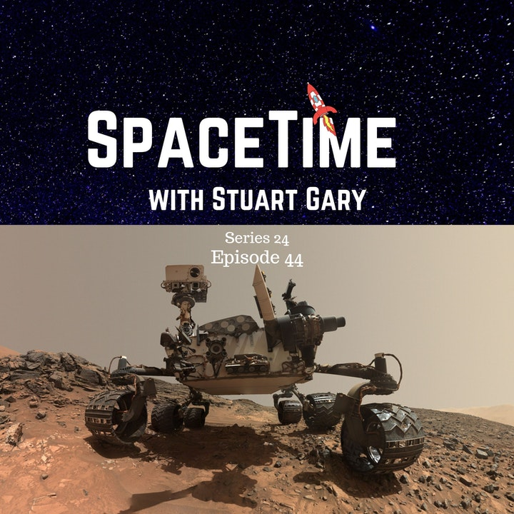 Mars Did Not Dry Up all At Once | SpaceTime S24E44 Show Notes