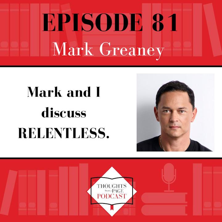 Mark Greaney - RELENTLESS
