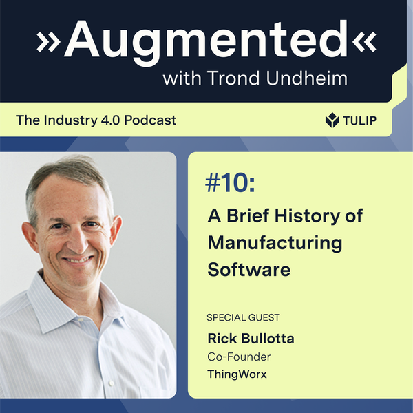 A Brief History of Manufacturing Software Image