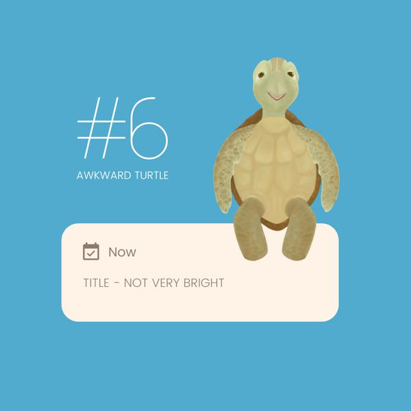 6 - I Am Not Very Bright