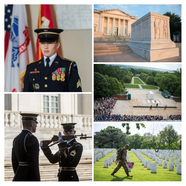 Episode 34 - Interview with Tomb Guard Ruth Robinson for Tomb of the Unknown Soldier Image