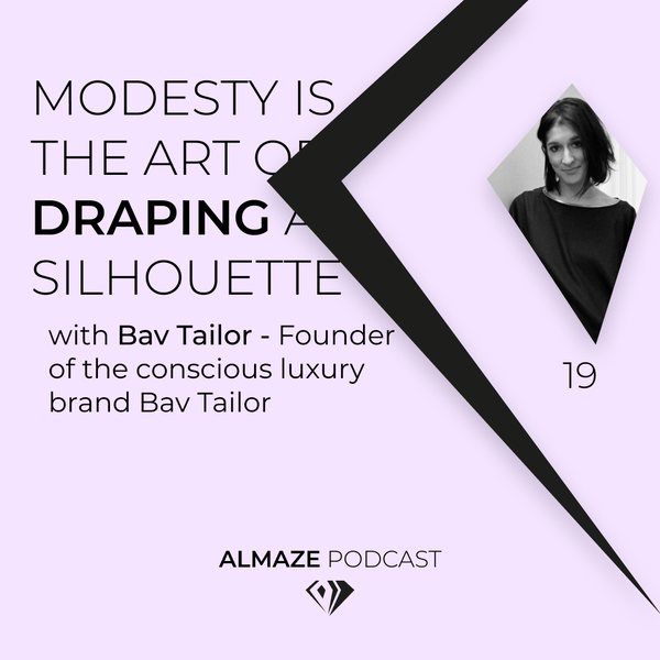 #19 Modesty is the art of draping a silhouette - Bav Tailor Image