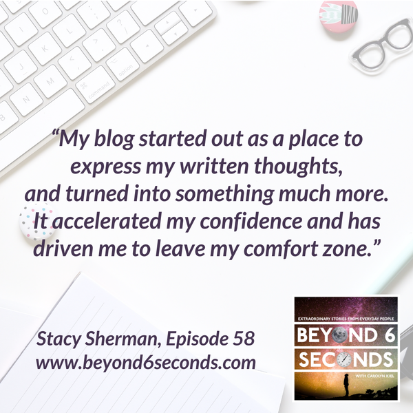 Episode 58: Stacy Sherman – Blogging about Customer Experience through DoingCXRight Image