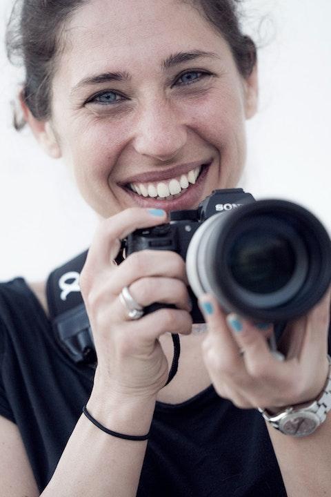 Sports photographer and Sony Europe Ambassador Mine Kasapoğlu