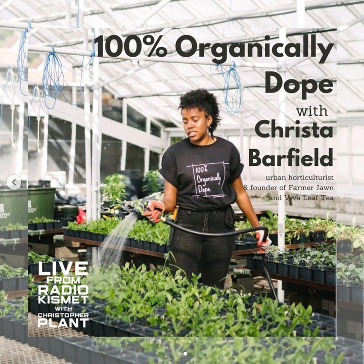 100% Organically Dope With Christa Barfield Of Farmer Jawn