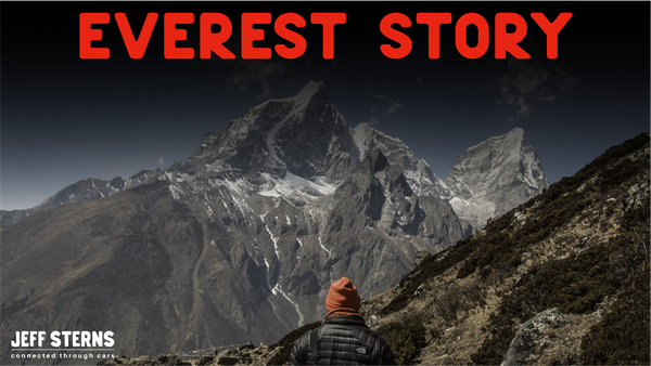 Randall Blaum gets offered a director role in a film on Mount Everest. It reset his life. Image