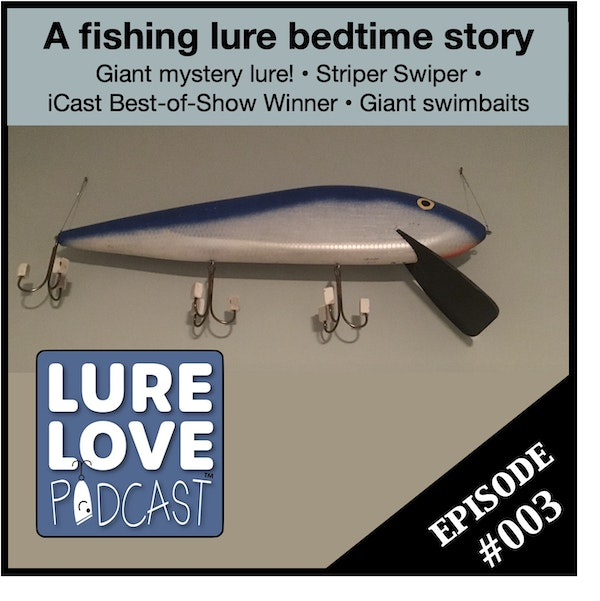 A bedtime story of lost lures Image