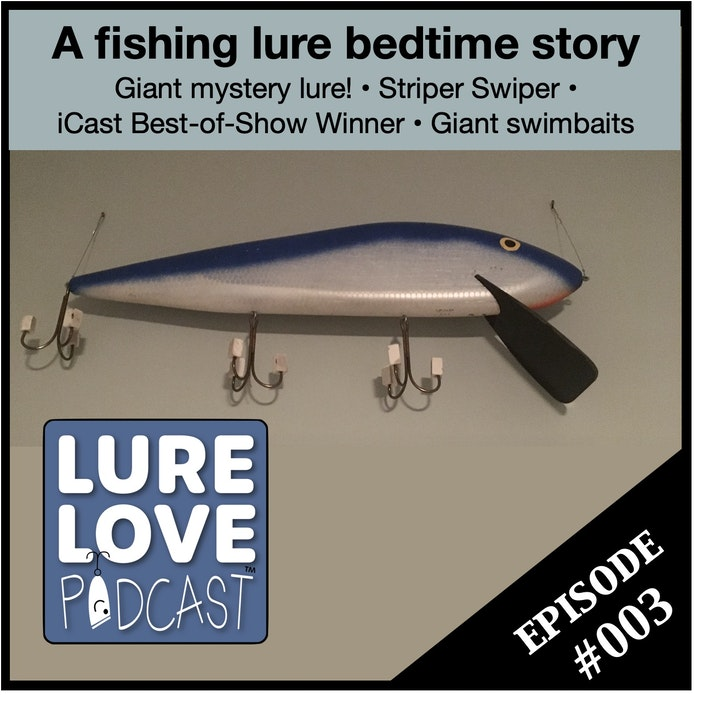 A bedtime story of lost lures