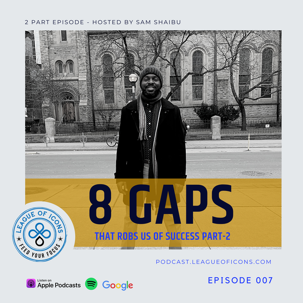 007 - 8 Gaps That Rob Us of Success Part 2 Image