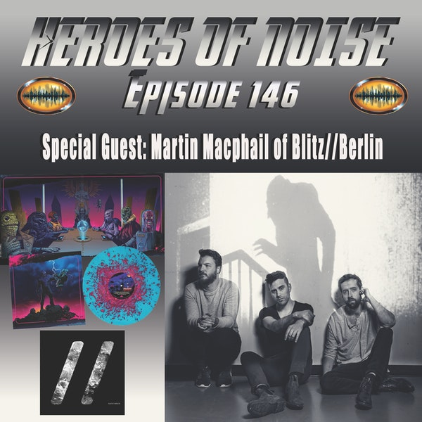 Episode 146 - Interview With Martin Macphail of Blitz//Berlin, composers of the Psycho Goreman Original Score and So Much More Image