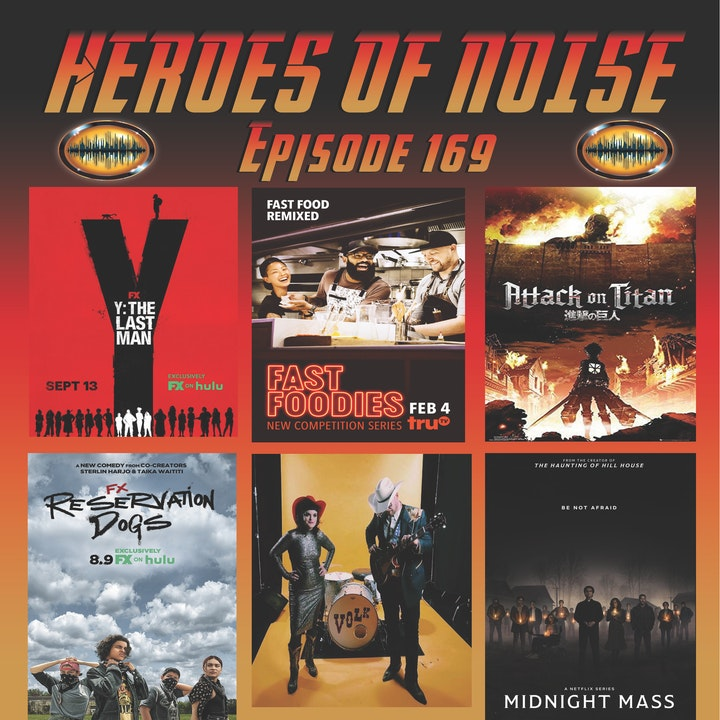 Episode 169 - Y: The Last Man, Volk, Attack On Titan, Reservation Dogs, and Midnight Mass (SPOILERS)