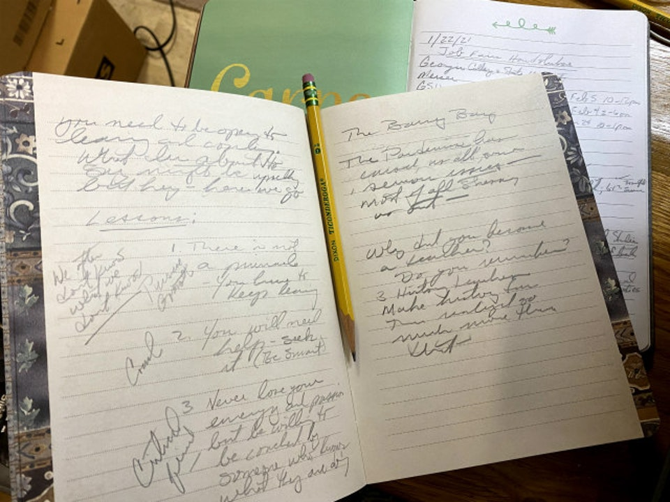Seeking a Teaching Job? Get a Journal to track your path and keep up with your progress, thoughts, and questions.
