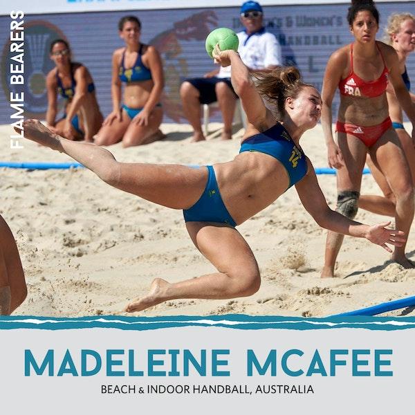 Madeleine McAfee & Tanya Beths (Australia): Managing Careers, Health & Beach Handball Image