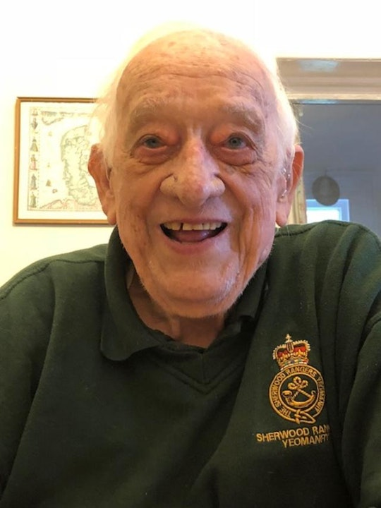 36 WW2 Tank Captain Stanley Perry PART ONE - Interview Image