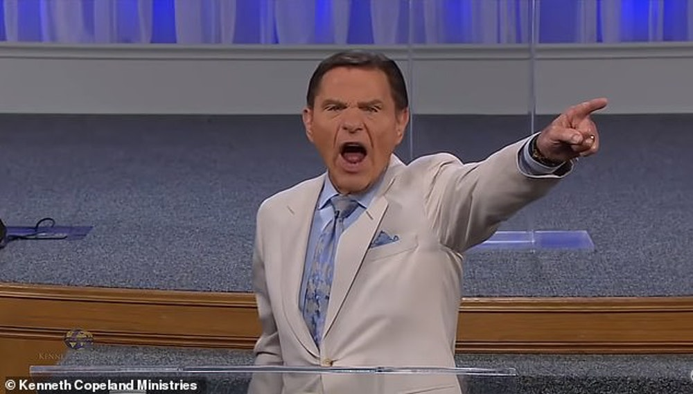 Kenneth Copeland Blood Covenant Ceremony