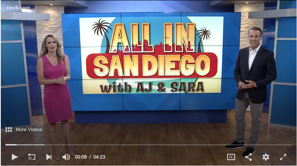 """""""All In San Diego"""" on CBS 8!"""