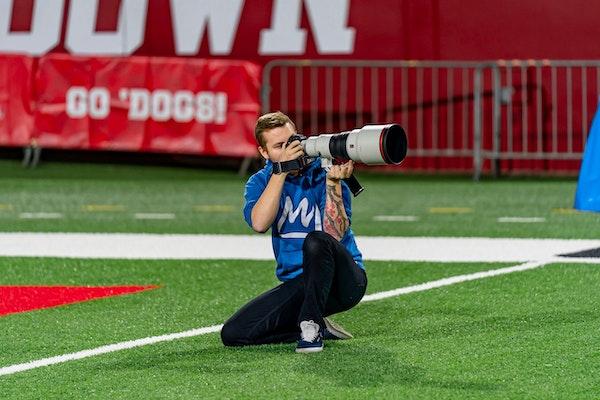 Sports photographer Andrew Wevers Image