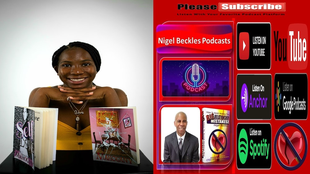 American Author Mahogany Clark Discusses Publishing 3 Books @ Age 21 years old & More...