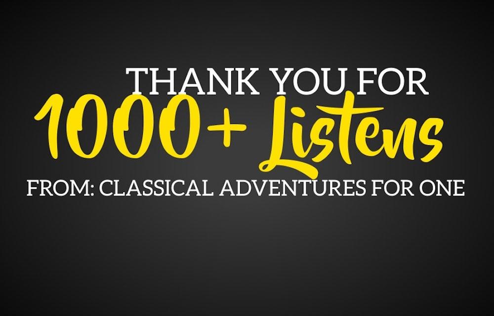 1K Listens!
