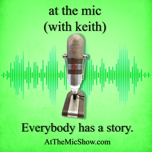 at the mic show (with keith)
